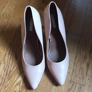 H&M genuine leather pumps